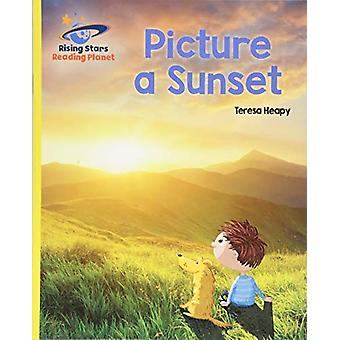 Reading Planet - Picture a Sunset - Yellow - Galaxy by Teresa Heapy -