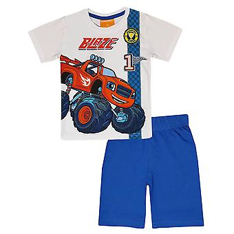 Blaze boys pyjama set monster machines
