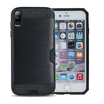 iPhone XS Max - Defender Kort Skall - Svart