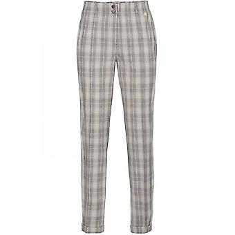 Bianca Check Print Trousers