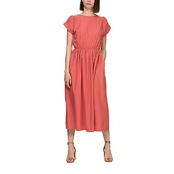 Bonsui Women's Mide Dress With Buttons