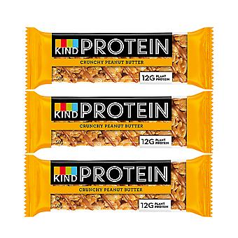 12 x 50g Kind Protein Gluten Free Bars Peanut Butter Energy Nutritious Healthy