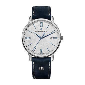 Maurice Lacroix EL1118-SS001-114-1 Eliros Blue Strap Wristwatch