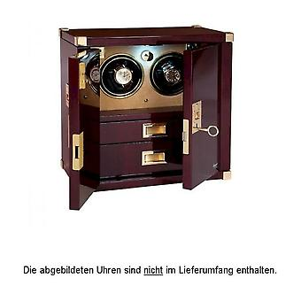 Rapport London Watch Winder Mariners Chest Mahagony Duo W282