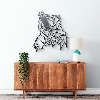 Metal Wall Art - Angry Bear