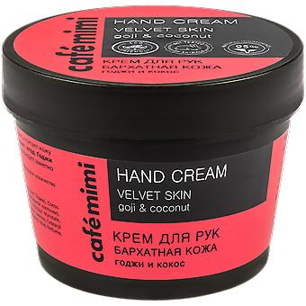 Cafe Mimi Velvet Hand Cream 110 ml