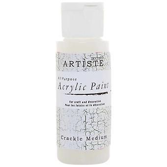 Docrafts Acrylic Paint (2oz) - Crackle Medium (DOA 763007)