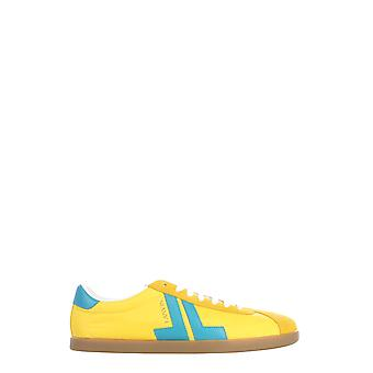 Lanvin Fmskdlonnylop208022 Män's Gula polyestersneaker