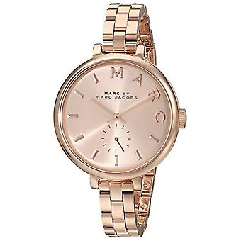 Marc Jacobs MBM3364 Sally Rose Dial Rose Gold-tone Ladies Watch