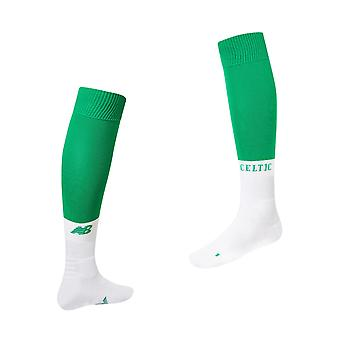 New Balance Celtic FC 2019/20 Junior Kids Home football chaussettes vert