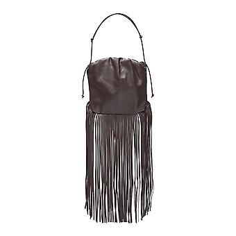 Bottega Veneta 630363vcp402132 Women's Brown Leather Shoulder Bag