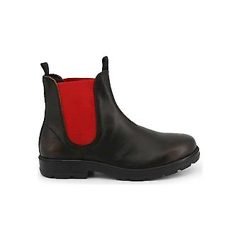 Docksteps - Shoes - Ankle boots - JASPER_6041_BLACK-RED - Men - black,red - EU 40