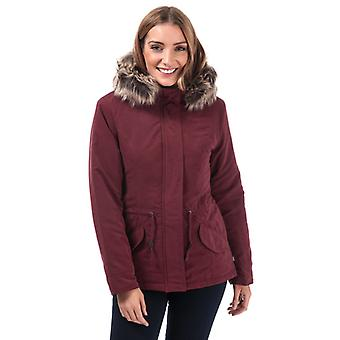 Women's Only Lucca Parka Jacket in Purple