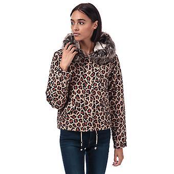 Women's Only Skylar Parka Jacket in Cream