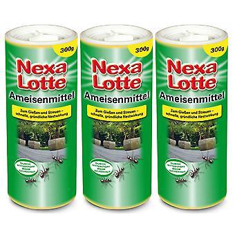 Sparset: 3 x NEXA LOTTE® ants, 300 g