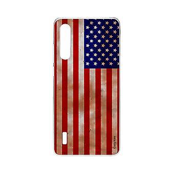 Skrog For Xiaomi Mi 9 Lite Mykt Flagg Usa