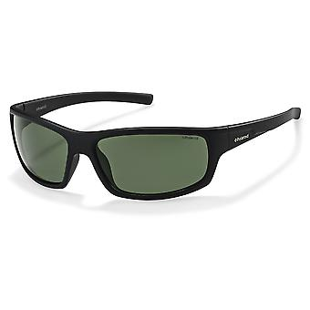 Polaroid P8411 9CA/RC Black/Green Polarised Sunglasses