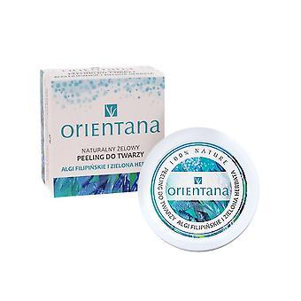Natural Gel Face Scrub Philippine Seaweed & Green Tea, 50 G