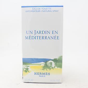 Un Jardin En Mediterranee von Hermes Eau De Toilette 1,6 Oz Spray neu mit Box