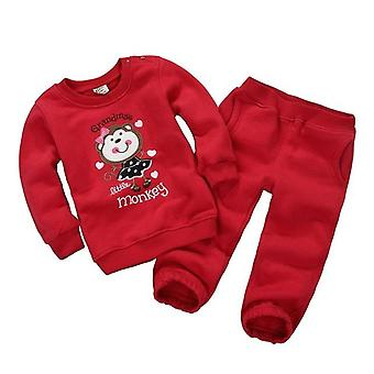 Baby Long Sleeve Top And Pants -Grandma'S Little Monkey