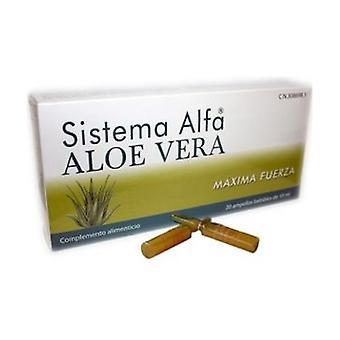 Alpha Aloe Vera System 20 ampoules