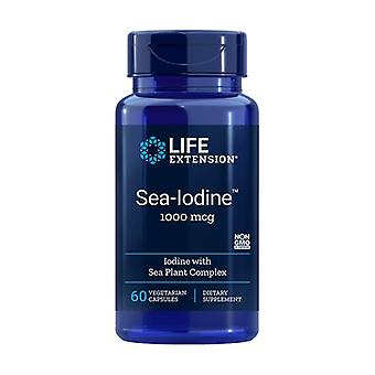 Iodo do mar 1000 mcg 60 cápsulas vegetais