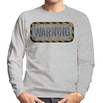 The Crystal Maze Warning Men's Sweatshirt