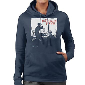 Enid Blyton The Famous Five Group Together Women's Hooded Sweatshirt