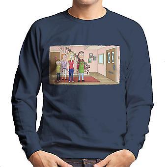 Rick og Morty festlig familie mænd ' s sweatshirt