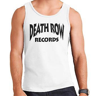 Death Row Recrods Logo Black Men's Vest