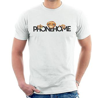 E.T. The Extra-Terrestrial Head Phone Home Men's T-Shirt