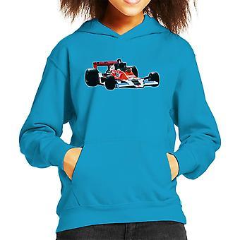Motorsport Images James Hunt McLaren M26 1977 Kid's Hooded Sweatshirt