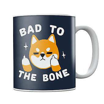 Bad To The Bone Dog Mug