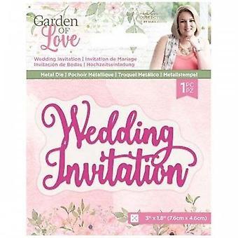 Crafter's Companion Garden of Love Wedding Invitation Dies