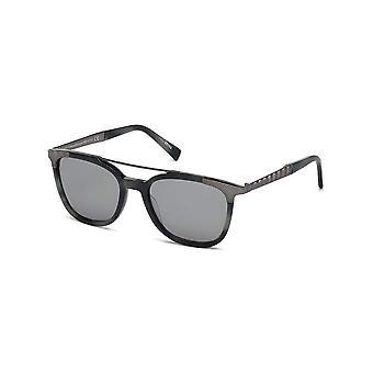 Ermenegildo Zegna - accessories - sunglasses - EZ0073_56C - men - dimgray,silver