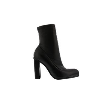 Alexander McQueen H.Boot Tread.Fa.S.Ru Box. Black 641879WHSS11081 shoe