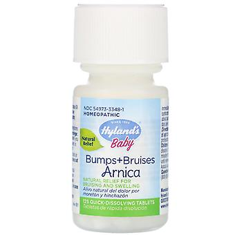 Hyland's, Baby, Bumps + Bruises with Arnica, 125 Quick-Dissolving Tablets