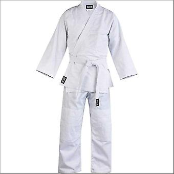 Blitz sports lightweight student judo suit - white