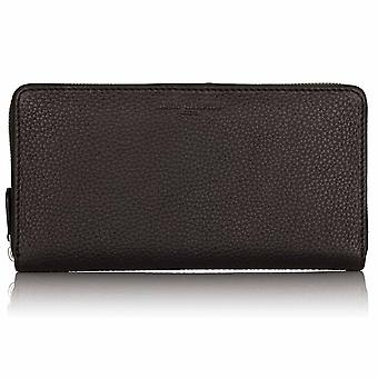 Cocoa Brown Richmond Leather Travel Wallet