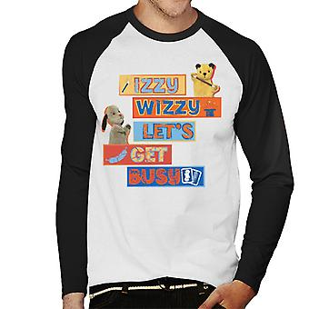 Sooty Izzy Wizzy Let's Get Busy Men's Baseball langärmelige T-Shirt