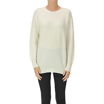 Fabiana Filippi Ezgl031081 Women's White Wool Sweater