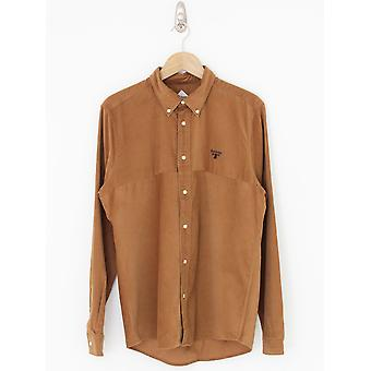 Barbour Beacon Balfour Cord Shirt - Sandstone