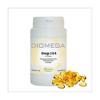 Diomega Equilibre Omega 3 & 6 120 perles