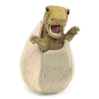 Hand Puppet - Folkmanis - Dinosaur Egg New Toys Soft Doll Plush 3134