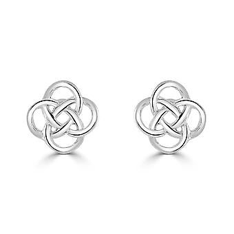 Heritage Sterling Silver Celtic Small Knot Stud Earrings 4276HP