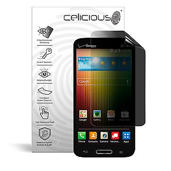 Celicious Privacy Plus 4-Way Anti-Spy Filter Screen Protector Film Compatible with LG Lucid 3
