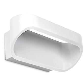 LED 1 Luce su e giù Piccolo Muro Bianco chiaro
