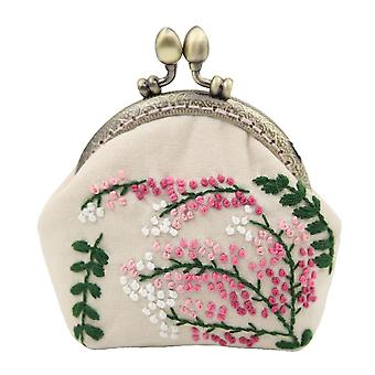 8.9cm Frame Width Hand Embroidery Kits for Woman Girls