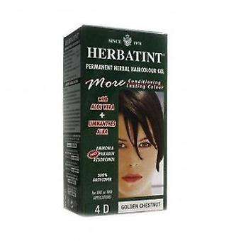 Herbatint - 4D 150 ml de cor de cabelo castanho dourado