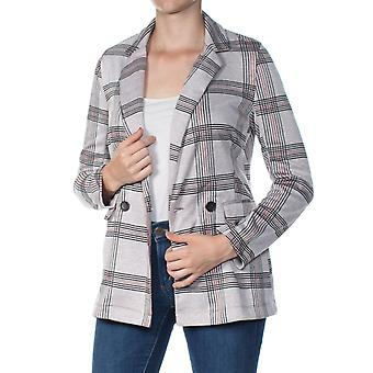 Project 28 NYC | Plaid Double-Breasted Blazer